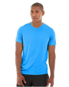Atomic Endurance Running Tee (V-neck)-XL-Blue