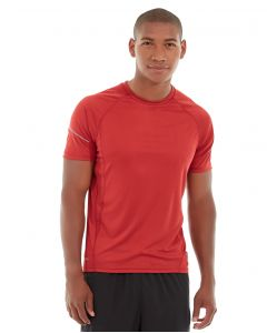 Atomic Endurance Running Tee (Crew-Neck)-XL-Red
