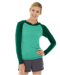 Ariel Roll Sleeve Sweatshirt-XL-Green
