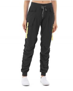 Ida Workout Parachute Pant-28-Black