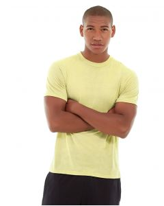 Aero Daily Fitness Tee-M-Yellow