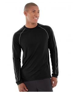 Deion Long-Sleeve EverCool™ Tee-XL-Black