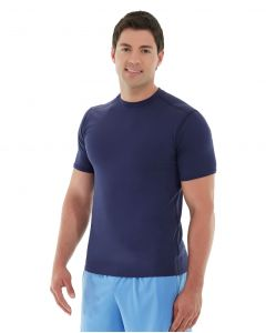 Logan  HeatTec® Tee-L-Blue