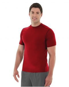 Logan  HeatTec® Tee-XL-Red