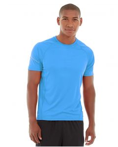 Atomic Endurance Running Tee (Crew-Neck)-S-Blue