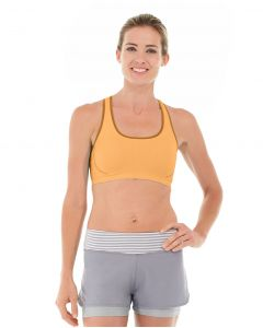 Erica Evercool Sports Bra-L-Orange