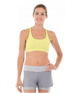 Erica Evercool Sports Bra-XL-Yellow