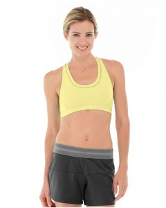 Celeste Sports Bra-M-Yellow