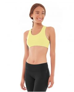 Prima Compete Bra Top-L-Yellow