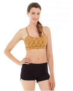 Lucia Cross-Fit Bra -L-Orange