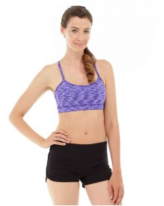 Lucia Cross-Fit Bra -L-Purple