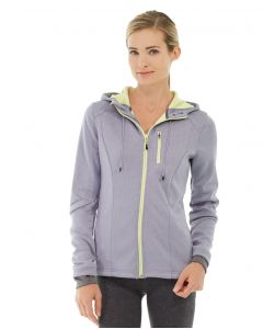 Phoebe Zipper Sweatshirt-M-Gray