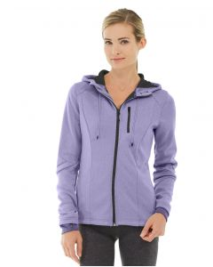 Phoebe Zipper Sweatshirt-L-Purple
