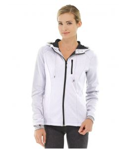 Phoebe Zipper Sweatshirt-L-White