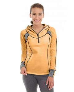 Cassia Funnel Sweatshirt-M-Orange