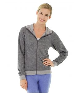 Helena Hooded Fleece-S-Gray