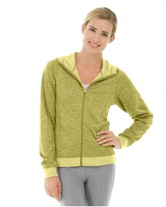 Helena Hooded Fleece-L-Yellow