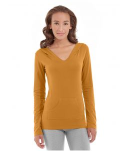 Eos V-Neck Hoodie-XL-Orange