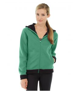 Circe Hooded Ice Fleece-XL-Green