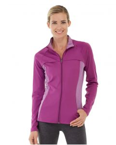 Inez Full Zip Jacket-L-Purple