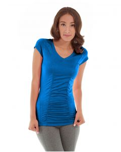 Iris Workout Top-L-Blue