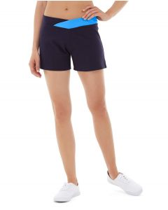 Bess Yoga Short-30-Blue