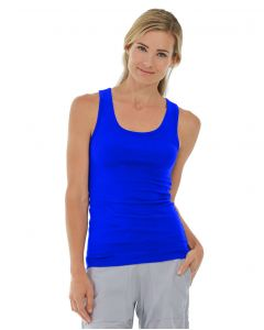 Bella Tank-L-Blue