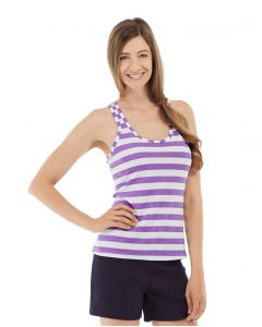 Nona Fitness Tank-S-Purple
