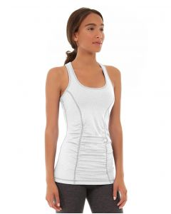 Leah Yoga Top-M-White