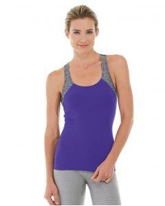 Antonia Racer Tank-L-Purple